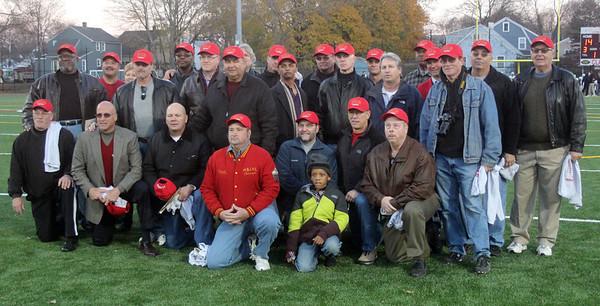 SHS 1972 football team 40th reunion