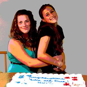Dana and Julia Graduation 2013